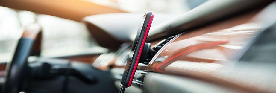 Mobile phone car holder