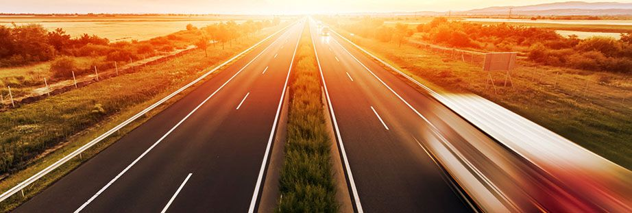Motorway sun